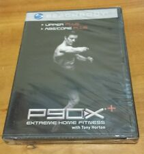 P90X+: Upper & Abs/Core Plus (DVD) Extreme Home Fitness with Tony Horton NEW