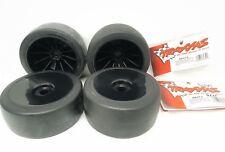 Traxxas 1/7 X01 Rear Frontmounted Black Dished Solid Wheel Set X4 6473 6745 OZRC