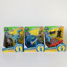 Imaginext Jurassic World Bundle H2O Vehicle Dinosaur Figure Hasbro Age 3+ NEW
