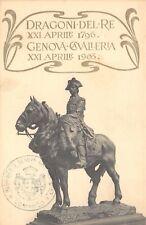 1668) DRAGONI DEL RE, GENOVA CAVALLERIA.