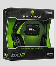 Turtle Beach Ear Force DX12 Black Headband Headsets new sealed