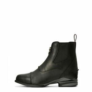 (p) Ariat Devon Pro Nitro Black Womens Zip Paddock Boot