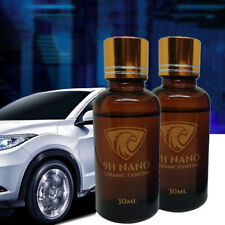 9H Nano Ceramic Coating Liquid Glass Hydrophobic Car Care Polish Wax Kit 30ml