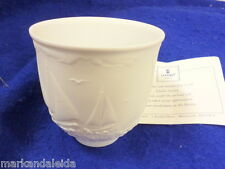 Lladro Collectors Society Porcelain Cup/Votive 17657 Sailing The Seas 1997