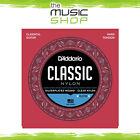 D'Addario Classic Nylon Classical Guitar Strings - Hard Tension EJ27H Daddario