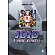 LE BIZZARRE AVVENTURE DI JOJO - DIAMOND IS UNBREAKABLE 9 DI 12 STAR COMICS NUOVO