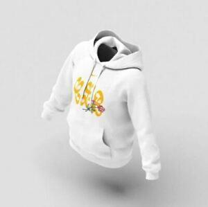 Nike x Drake Certified Lover Boy CLB White Hoodie - MEDIUM