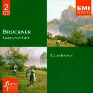 Bruckner Symphonies 5 & 6 - Eugen Jochum/Dresden 2x CD