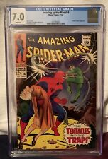 Amazing Spider-Man #54 (1967) CGC 7.0 Doctor Octopus Cover on White Pages!