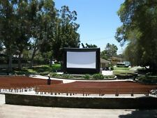 25 X 14ft inflatable movie screen New Gen8 design with all accessories Premium
