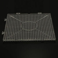 Perle Ersatz Steckplatte Quadratisch Klar Bügelperlen 144x144x7.5mm