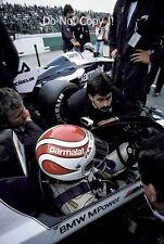 Nelson Piquet Brabham BT52B AUSTRIACO GRAND PRIX 1983 fotografia 5
