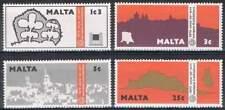 Malta postfris 1975 MNH 514-517 - Monumenten Bescherming
