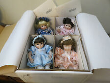 NIB Marie Osmond Porcelain dolls Tiny Tots Olive May and Friends Doll COA