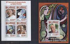 Mosambik Block106 Postfrisch 2001 Kunstwerke Stamps