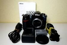 Nikon D D300 12.3 MP Digital SLR Camera Black w/ Warranty + 8GB SDHC C10