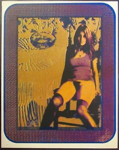 """WILLIAM WEEGE, """"MILDRED"""" EROTIC SCREEN PRINT IN COLOR ARTIST PROOF 1972 SIGNED"""