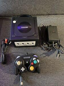 CONSOLE NINTENDO GAMECUBE NTSC JAPON BLACK EDITION Manette Et Cables