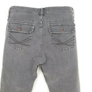 Lee Slender Secret Jeans Womens Sz 14S Gray Denim Flared Leg Lower on the Waist