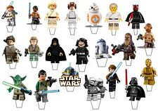 21 Lego Guerra de las galaxias Stand Up Comestible Cupcake Topper Comestible Decoraciones * precortadas *
