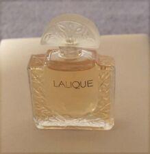 Authentic LALIQUE France MINIATURE Perfume Bottle Eau de Parfum EDP Classic NEW