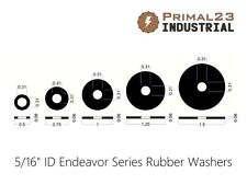 "5/16"" Inside Diameter Rubber Washers - Oil Resistant Neoprene Rubber Washers"