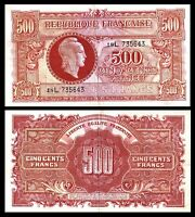 France: Tresor Central. 500 francs. (1944). 18L 735643  (Pick 106). VF+