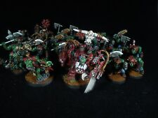 Ork army 6 warhammer 40k PAINTED
