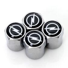 4PCS Chrome New Auto Metal Wheel Tire Air Valve Case Caps for accessories OPEL