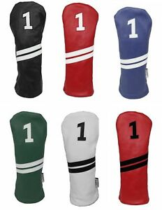 SUNFISH LEATHER DRIVER HEADCOVER NEW  - PICK A COLOR