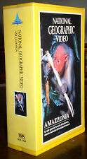 AMAZZONIA foresta Amazzonica 2VHS colour National Geographic video 1993