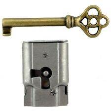 """S-15 Full Mortise Cabinet and Door Lock with Key 1-7/16"""" H x 1"""" W x 5/16"""" thick"""