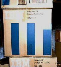 IBM 38L1412 - USAGE KIT 220v for INFOPRINT 21 = 200 k PAGES - GENUINE - SEALED