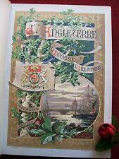 "VILLARS .P. "" L'ANGLETERRE , L' ECOSSE & L'IRLANDE "" 1890( reliure signée )"