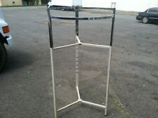 ROUND CLOTHES RACKS ADJUSTABLE 10 RACKS FOR ONE BUY IT NOW PRICE