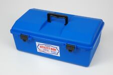 Fischer Plastic Products Blue Utility Box Large with one tray 1H-140B