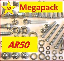 Kawasaki AR50 - Nuts / Bolts / Screw / Grade A2 Stainless MegaPack