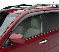 2009-2013 SUBARU FORESTER GENUINE OEM SIDE WINDOW RAIN DEFLECTORS E3610SC200