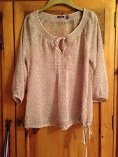 Ladies Star Patterened Mexx Blouse Size 10