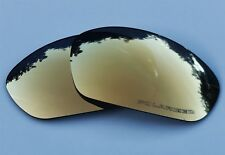 ETCHED POLARIZED 24K GOLD MIRROR REPLACEMENT OAKLEY STRAIGHT JACKET 2007+ LENSES