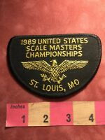 Vtg 1989 St. Louis Missouri UNITED STATES SCALE MASTERS CHAMPIONSHIPS Patch 88J