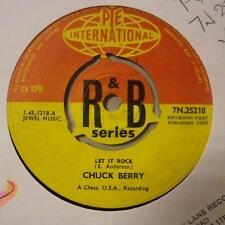 """Chuck Berrys(7"""" Vinyl)Let It Rock / Memphis Tennesse-UK-Ex/Ex"""