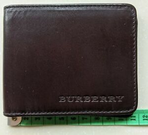 Burberry brown leather bifold mens wallet Brand New RRP £250