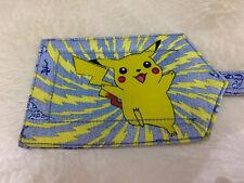 Pokemon Handmade Luggage Bag Tag Rare Handmade Cloth