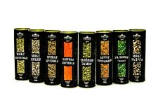 "Organic Spice Mix Set ""Summer Taste"" 8 in 1, Herbs & Spices by PapaVegan"