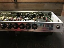 "FENDER ® TWIN REVERB AMP ®  ""HEAD"",  ca 1970,  NON-MASTER VOLUME chassis"
