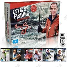 Extreme Fishing DVD : Season 1 - 7 : Robson Green : Brand New 13-Disc Box Set