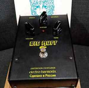 Electro-Harmonix Black Russian Big Muff Pi 2000 with orig box & warranty card