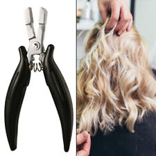 Hair Extension Pliers ForRemoving Silicone Micro Rings Beads And Fusion Bond G9C
