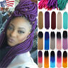 Long  Faux Locs Braides Ombre Crochet Braiding Hair Extensions Afro Dreads hg4q